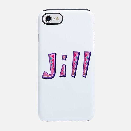 Jill Pink Giraffe iPhone 7 Tough Case