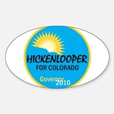 Hickenlooper 2010 Decal
