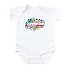 Organ Retro Organist Infant Bodysuit
