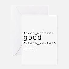 Cute Technical writer Greeting Card