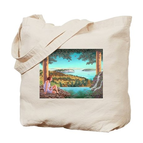 Homage to Maxwell Parrish Tote Bag