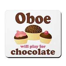 Chocolate Oboe Mousepad
