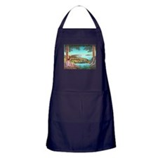 Homage to Maxwell Parrish Apron (dark)