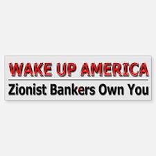 Wake Up America - Bumper Bumper Sticker