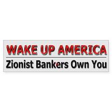Wake Up America - Bumper Sticker