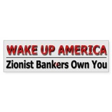 Wake Up America - Car Sticker