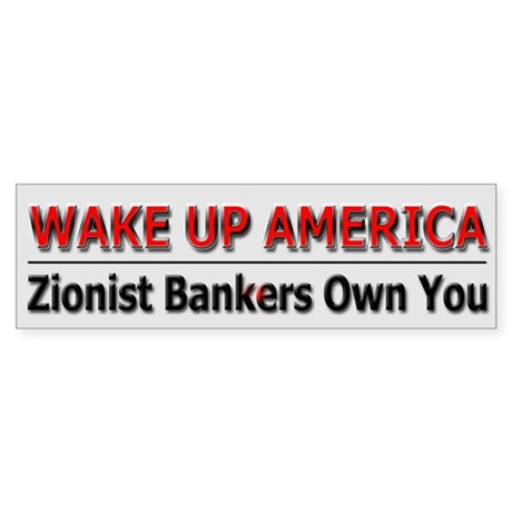 Wake Up America - Sticker (Bumper)