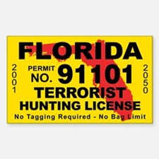 Terrorist hunting license gifts merchandise terrorist for Florida fishing license online