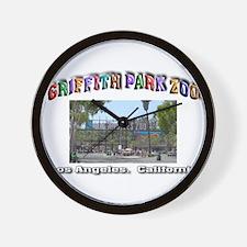 Griffith Park Zoo Wall Clock
