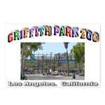 Griffith Park Zoo Postcards (Package of 8)