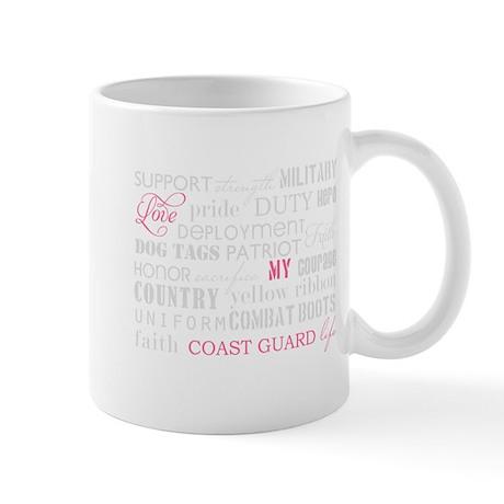 Love My Coast Guard Life Mug