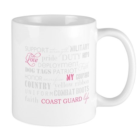Love My Coast Guard Life Mug