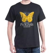Psoriasis Butterfly T-Shirt