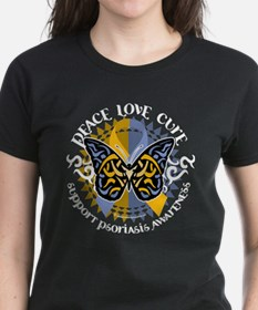 Psoriasis Peace Love Cure Tee