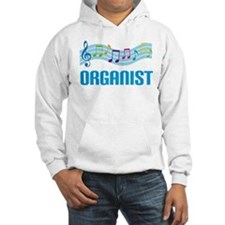 Music Staff Organist Hoodie
