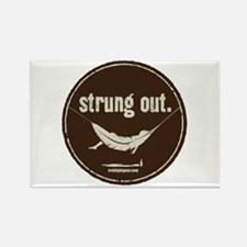 Strung Out Rectangle Magnet