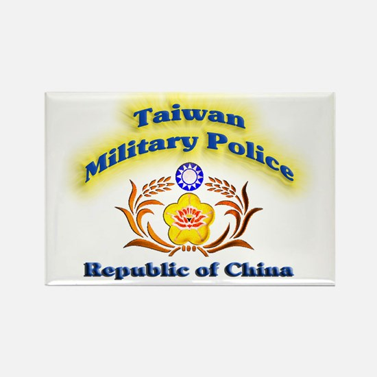 Taiwan Military Police Rectangle Magnet