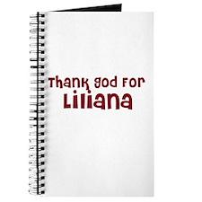Thank God For Liliana Journal