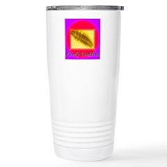 Firefly Goddess Stainless Steel Travel Mug