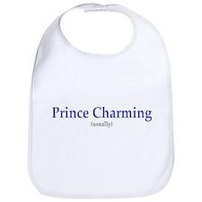 Prince Charming (Usually) Bib