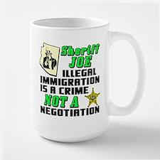 """Sheriff Joe"" Large Mug"