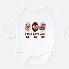 Peace Love Curl Curling Body Suit