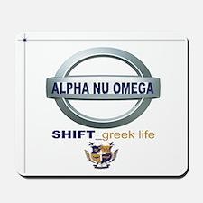 """ANQ """"Shift_Greek Life"""" Mousepad"""