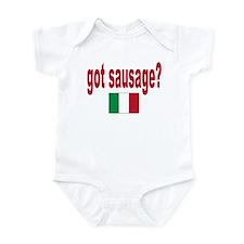 got sausage Infant Bodysuit