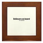 Believers on board(TM) Framed Tile