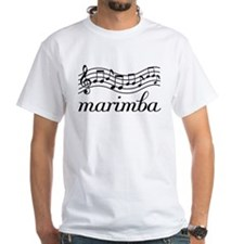 Musical Staff Marimba Shirt