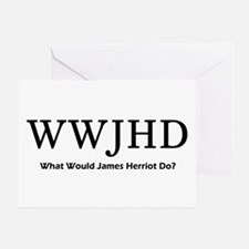 What Would James Herriot Do? Greeting Card