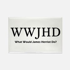 What Would James Herriot Do? Rectangle Magnet