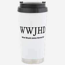 What Would James Herriot Do? Thermos Mug