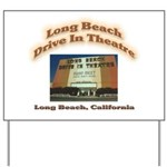 Long Beach Drive In Theatre Yard Sign