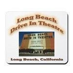 Long Beach Drive In Theatre Mousepad