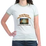 Long Beach Drive In Theatre Jr. Ringer T-Shirt