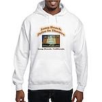 Long Beach Drive In Theatre Hooded Sweatshirt