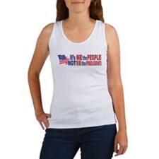 Its We the People Not ME The President Women's Tan
