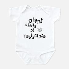 Plant Seeds of Resistance Infant Bodysuit