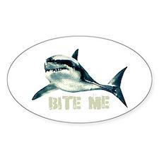 Bite Me Shark Decal