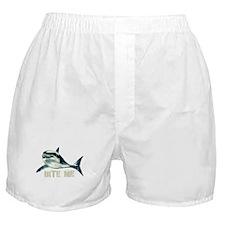Bite Me Shark Boxer Shorts