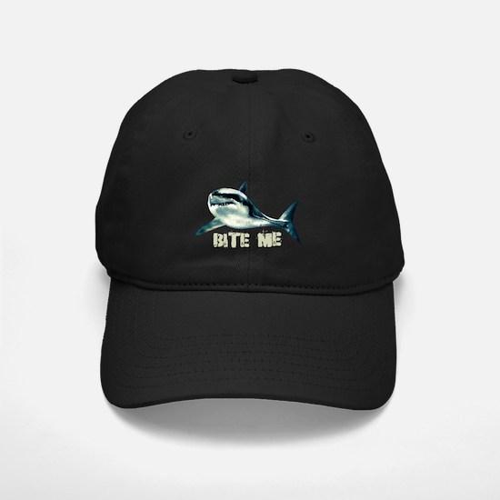 Bite Me Shark Baseball Hat