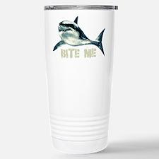 Bite Me Shark Stainless Steel Travel Mug