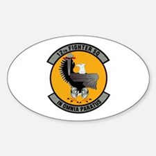 12th Fighter Oval Decal