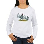Sebright Silver Bantams Women's Long Sleeve T-Shir