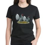 Sebright Silver Bantams Women's Dark T-Shirt