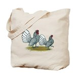 Sebright Silver Bantams Tote Bag