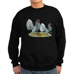 Sebright Silver Bantams Sweatshirt (dark)