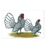 Sebright Silver Bantams Postcards (Package of 8)