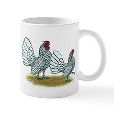 Sebright Silver Bantams Mug
